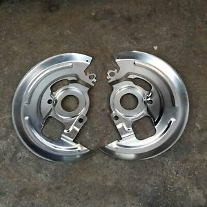 Gm Backing Plate Set 1964 74 A F X Body Single Piston Caliper Disc Brake Chevy