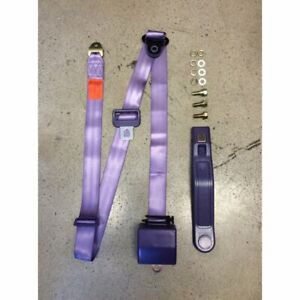 3 Point Retractable Plum Purple Seat Belt 1 Belt V8 Muscle Car Hot Rod Gm Ford