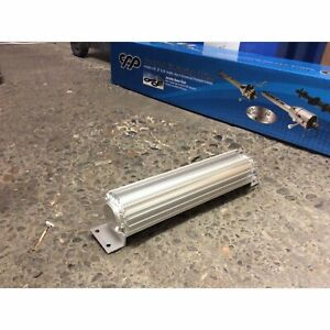 12 Finned Aluminum Double Pass Transmission Trans Cooler Dual Line Universal