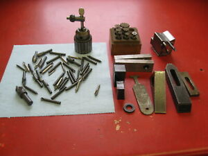 Machinist Grab Lot Of Tooling And Workholding Magnetic Vee Block Keyway Cutters