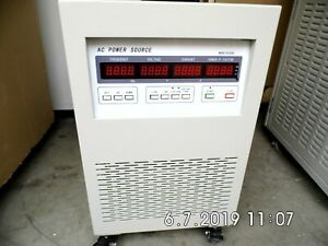 Jl11006 6kva Single Phase Ac Programmable Variable Frequency Ac Power Source