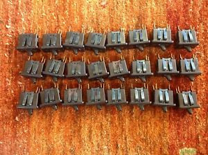 Carling Black On off Toggle Switch 20a 120v 1 2 Hp Vintage Lot Of 24 See Photos