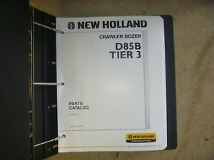 Nh New Holland D85b Tier 3 Crawler Dozer Parts Catalog Shop Manual