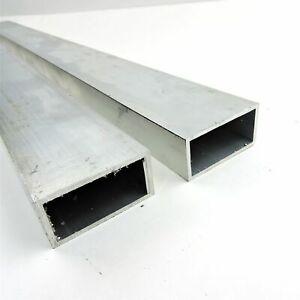 5 x2 od Aluminum Rectangle Tubing 125 Wall Thickness 35 Long Qty 2 Sku137763