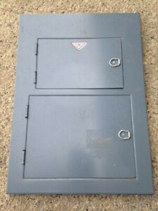 Wadsworth Fuse Panel Box Front Cover 100 Amp C 681
