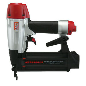 Max Nf255fa18 18 gauge 2 1 8 In Compact Superfinisher Brad Nailer New