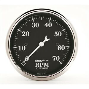 Autometer 1798 Tachometer With Electric Air core 3 125 0 7000 Rpm