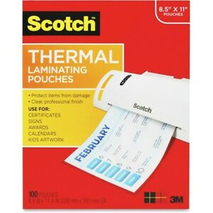 Scotch Thermal Laminating Pouches Tp3854100