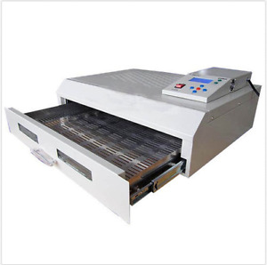 T962c Infrared Ic Heater Reflow Oven Soldering Machine 2500w 400x600mm Nn