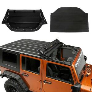 For 2007 2017 Jeep Wrangler Jk Soft Top Cover Kit With Hardwares Black New Style