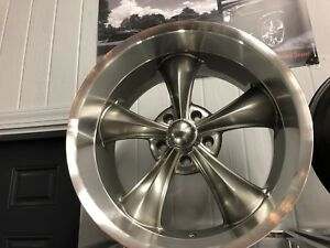 4 Ridler Grey 695 5x5 5x127 Staggered 20x8 5 20x10 Chevy C10 73 87 72 Free Lugs