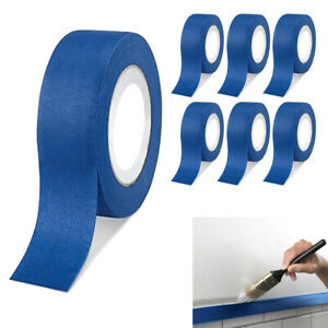 6 Rolls Painters Blue Multi Purpose Masking Paint Tape Premium Grade 1 89 x60yds