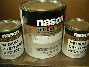 Auto Body Shop Paint Nason dupont Olympic White Basecoat Clearcoat Kit Car Paint