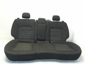 15 16 Ford Fusion Rear Seat Assembly Cloth Black Oem
