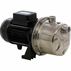 Saer usa Self priming Stainless Steel Jet Pump 870 Gph 1 2 Hp 1in Ports M 94