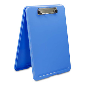 Clipboard With Storage Blue Plastic Storage Clipboard Form Holder Binder With
