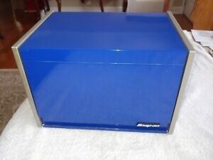 Rare Snap On Tools 12 Wide Miniature Blue 4 Drawer Tool Box Chest Must See