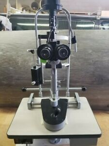 Marco 2b Slit Lamp Two Handed With Haag Streit Tonometer