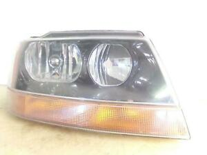 1999 2000 2001 2002 Jeep Grand Cherokee Laredo Passenger Rh Headlight Oem B117r