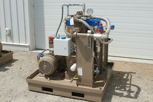 Natural Gas Compressor Package With Vfd