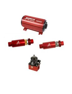 Aeromotive 11101 12301 12304 13101 A1000 Electric Fuel Pump Filter Combo Kit