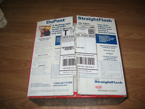 Dupont Tyvek Straight Flash
