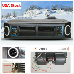 Universal Underdash Ac Evaporator 12v Heat Cool Air Conditioner Compressor Usa
