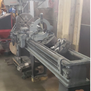 Vintage Monarch Lathe With 8 Foot Bed 20 Inch Swing