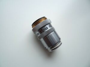 Lens Vi 85x1 0 L Luminescent With Correction Ring Lomo For Microscope