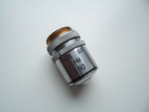 Lens Mi 90x1 25 0 6 With Iris Diaphragm Lomo For Microscope