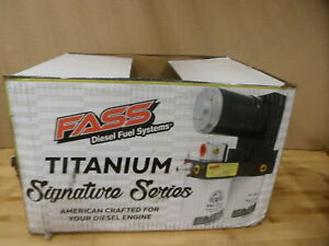 New Fass Titanium Signature Air fuel Separation Fuel Pump 99 07 Ford Powerstroke