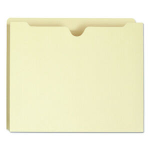 Smead 75605 100 Recycled Top Tab File Jackets Letter 2 In Exp manila New