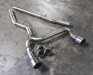 Agency Power Signature Cat Back Exhaust System For 2016 2018 Ford Focus Rs