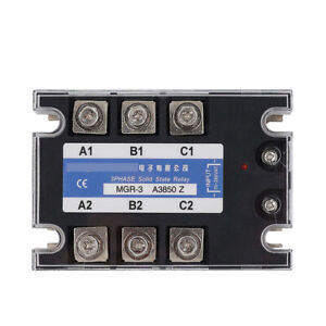 Three phase Solid State Relay For Mager Mgr 3 A3850z Tsr 50aa 380vac 70 280vac