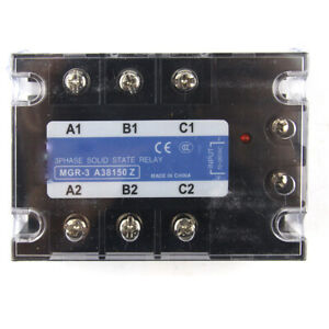 Three phase Solid State Relay For Mager Mgr 3 A38150z Tsr 150aa 380vac 70 280vac