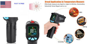 Infrared Thermometer Non contact Digital Laser Ir Temperature Gun For