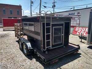 Vintage 8 Foot Truck Top Camper Shipping Available See Below