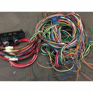 1966 74 Chevy Nova Modern Update Complete Re wiring Kit All Harnesses fuse Panel