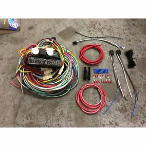 Complete 1973 87 Chevy C10 Pickup 24 Circuit Wiring Harness Wire Kit 15 Fuse K10