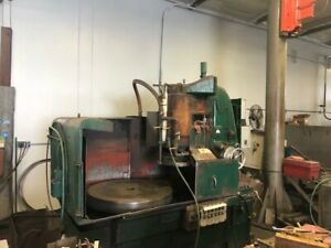 42 Blanchard Rotary Surface Grinder Model 18 42d