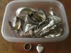 Sterling Silver Scrap And Recovery 48 Grams Clean Honest Sterling