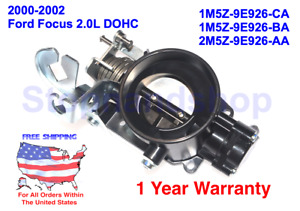 New Fuel Injection Throttle Body For 2000 2002 Ford Focus 2 0l Dohc