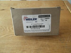 Weiler 1 2 Crimped Wire End Brush 10015 New Unused Box Of 10