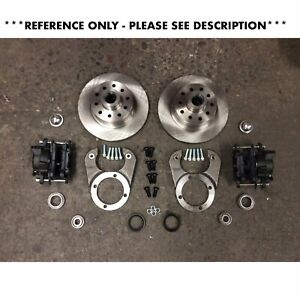 28 48 Ford Disc Brake Conversion Kit Fits Pete Jakes Spindles Magnum Axles Fmc