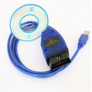 Kkl409 1 Vag Com 409 Obd2 Obd Ii Car Diagnostic Scanner Cable For Audi Vw Seat