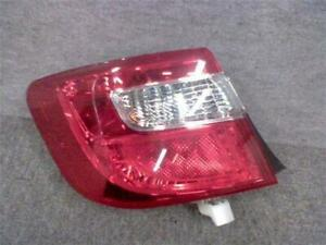 Camry Left Tail Lamp 81560 33550 Toyota Daa avv50 used Parts july 2012 Model
