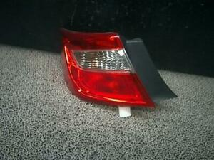 Camry Left Tail Lamp 81560 33550 Toyota Daa avv50 used Parts december 2012 Model