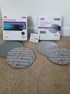 3m Trizact 6 1000 3000 Hookit Foam Discs 2 Sheets Of Each 4 Total
