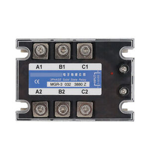 Three phase Solid State Relay For Mager Mgr 3 032 3880z Tsr 80da 380vac 3 32vdc