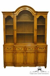 Rway Furniture Country French 60 Secretary Bookcase China Cabinet 13 4331